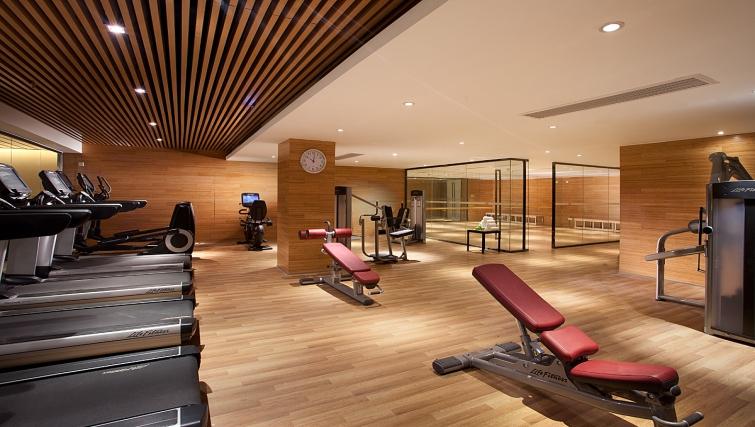 Free on-site gym at Ascott Midtown Suzhou Apartments