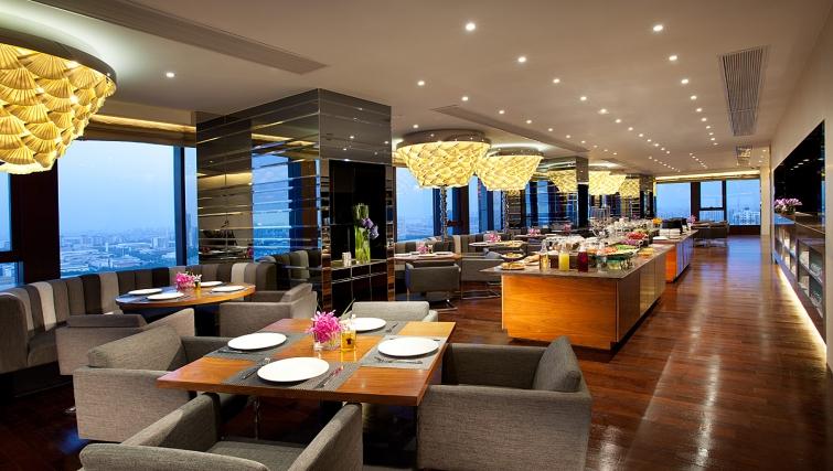 Breakfast area at Ascott Midtown Suzhou Apartments