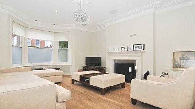Stylish living area at Savernake Apartment
