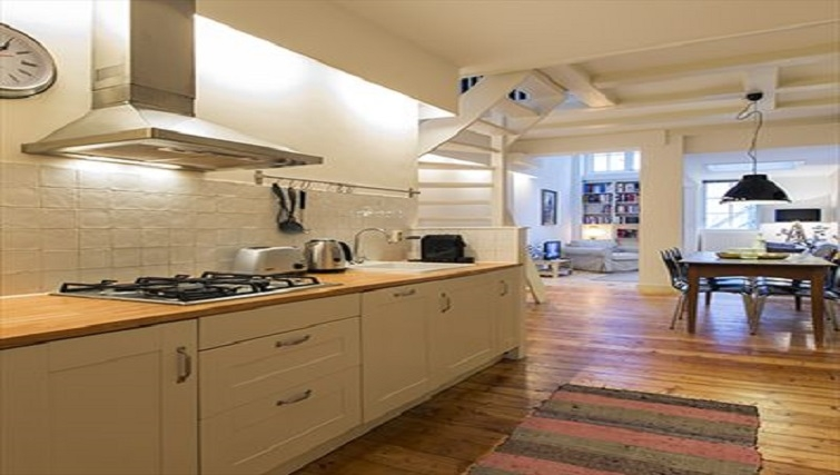 Kitchen in Lisa Apartment, Amsterdam