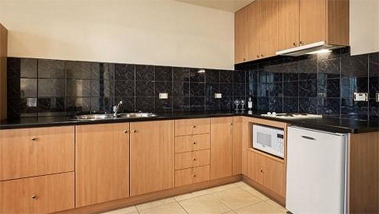 Nice kitchen at Quest Hobart Savoy