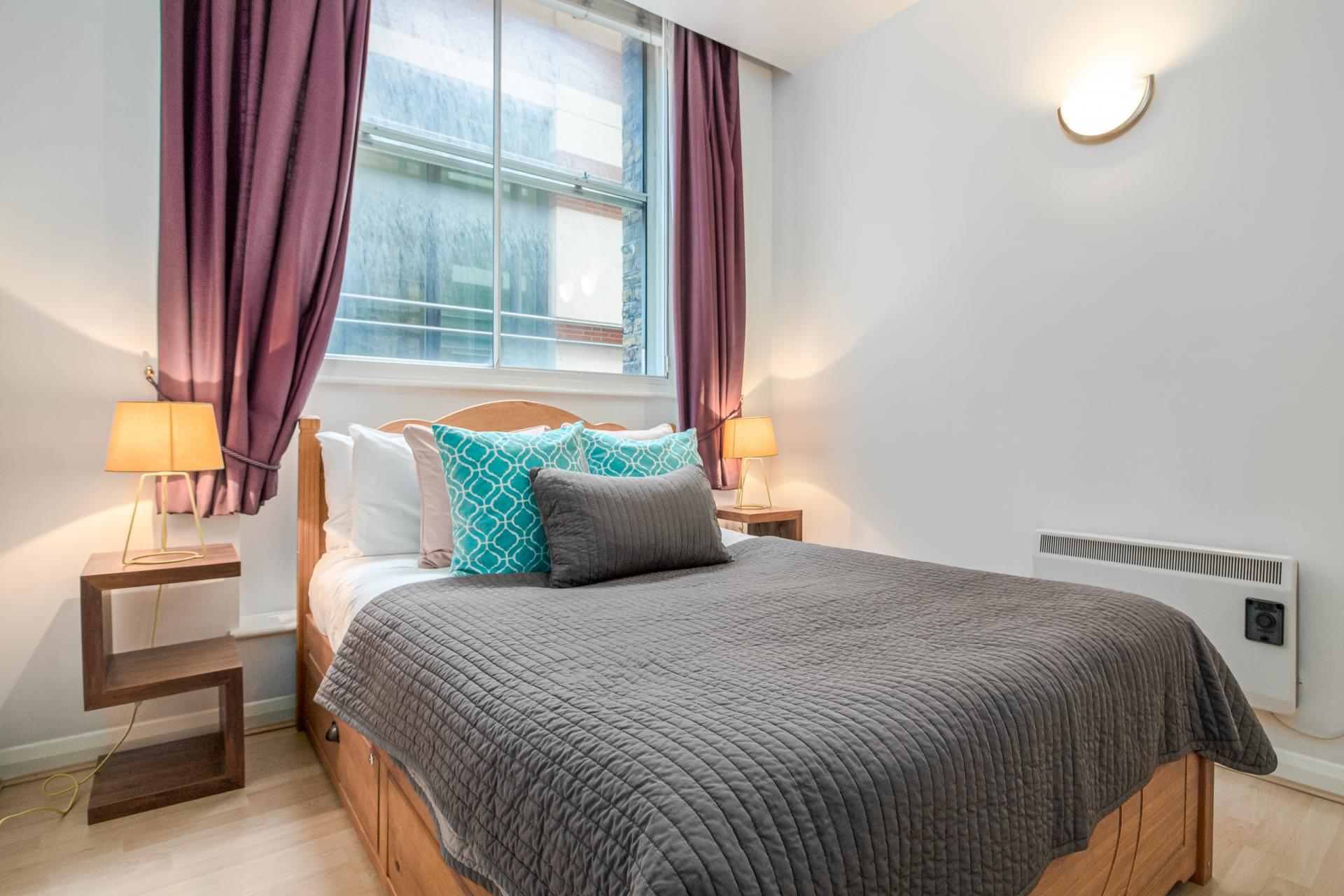 Bedroom at Priory House Apartments, City, London