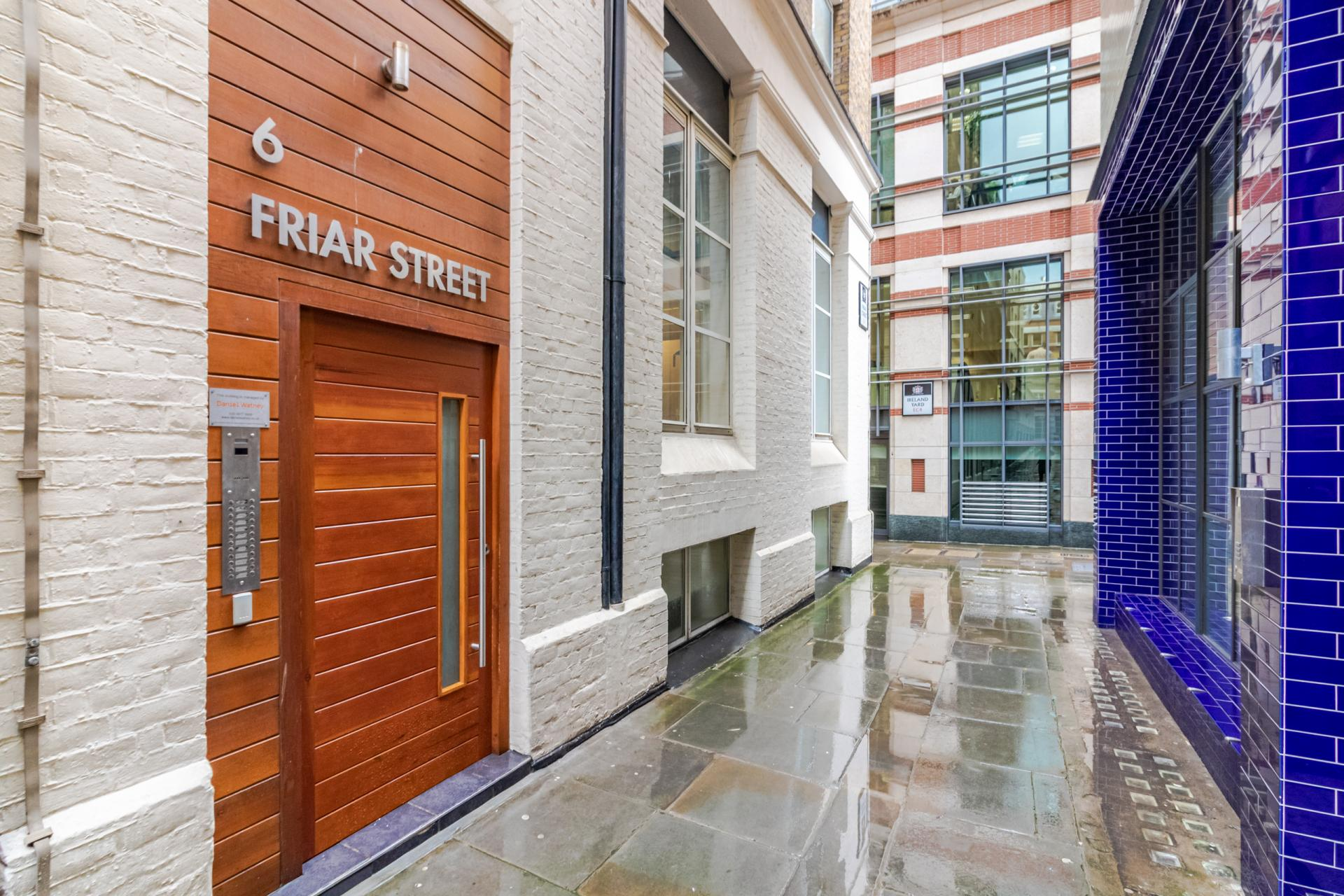 Exterior at Priory House Apartments, City, London