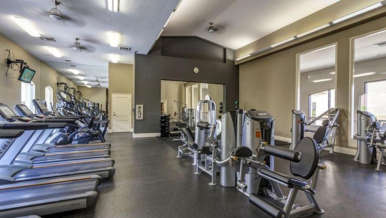 Gym at Cedar Walk Apartments