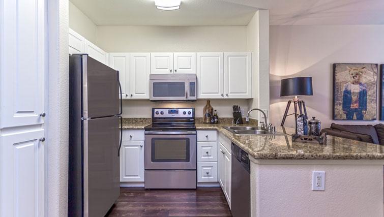 Kitchen at Cedar Walk Apartments