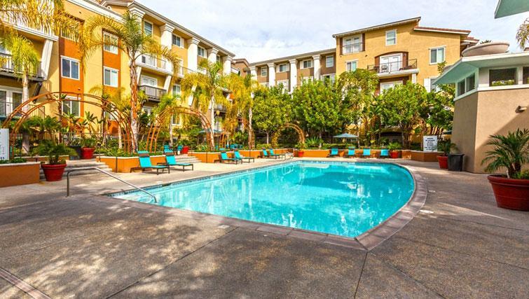 Pool at Cedar Walk Apartments