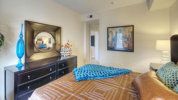 Bed at Cedar Walk Apartments