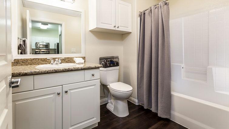 Bathroom at Cedar Walk Apartments