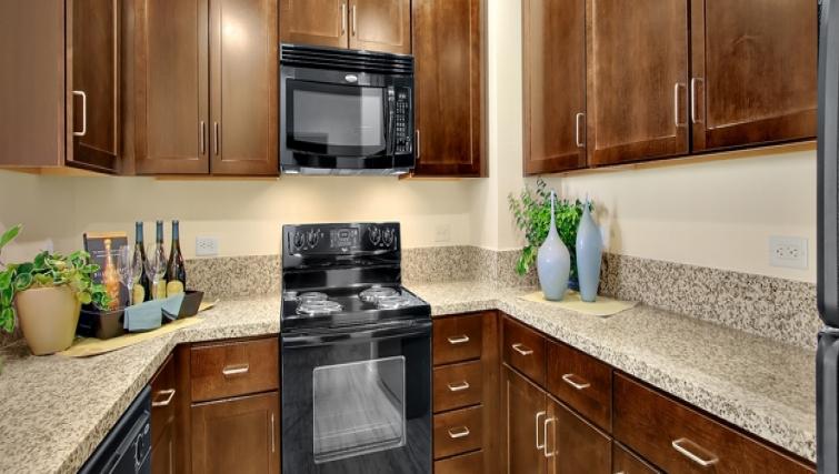 Kitchen at Strata San Francisco Apartments