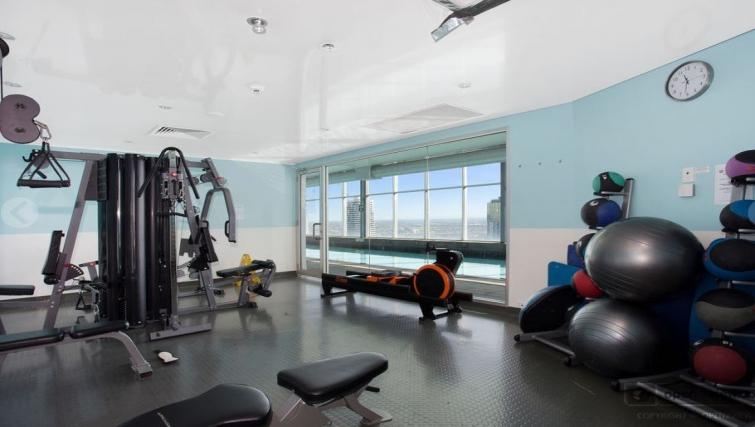 Gym at Jane Bell Lane Apartments
