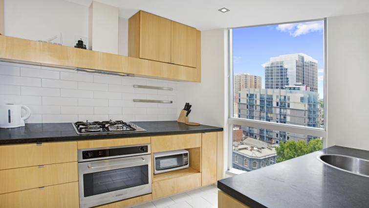 Fully equipped kitchen at Jane Bell Lane Apartment