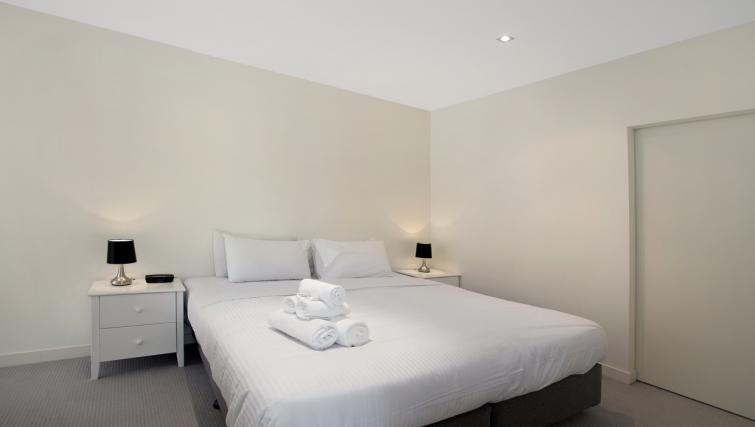 Double bedroom at Jane Bell Lane Apartment