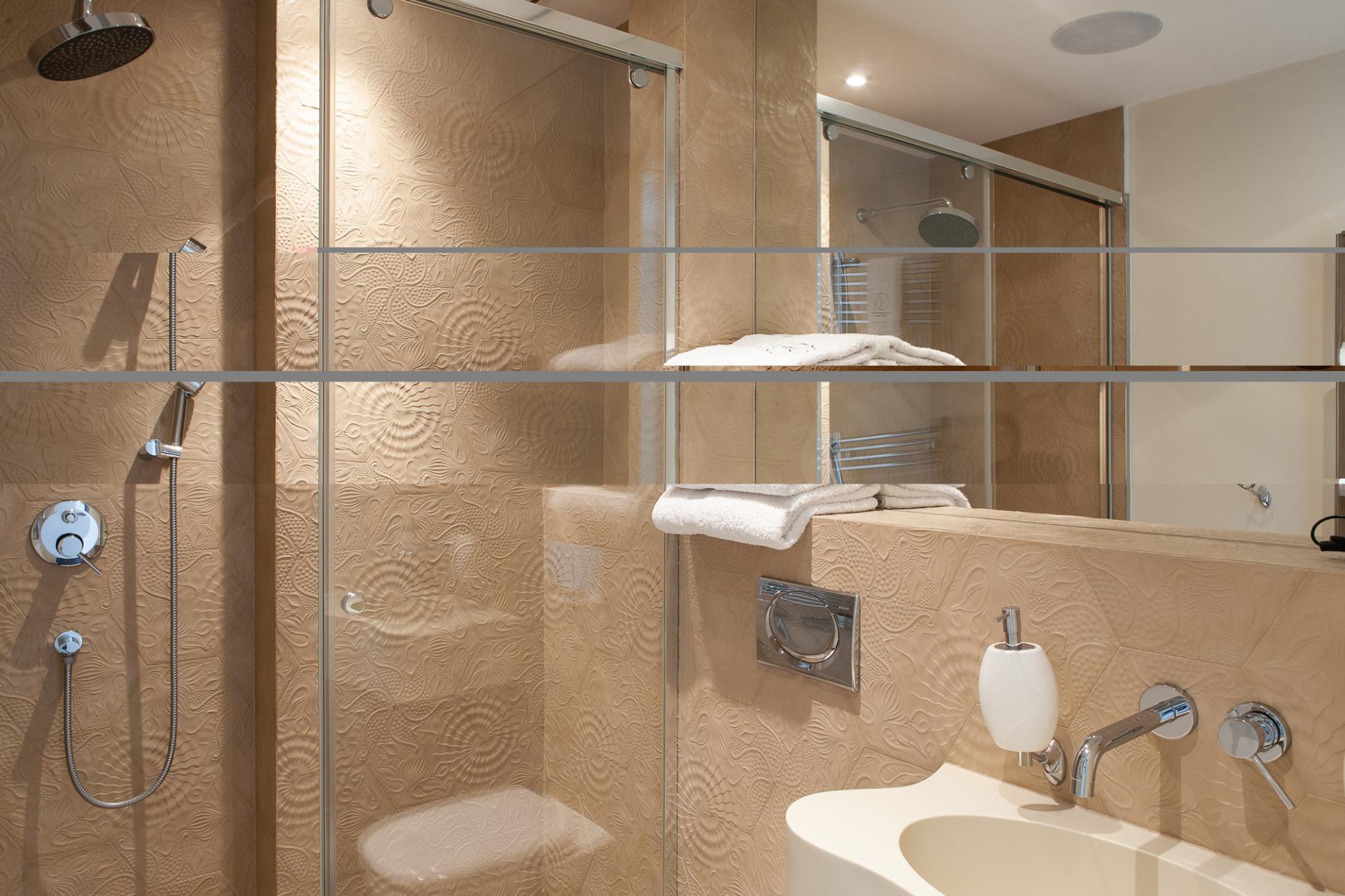 Bathroom at Grzybowska 61 Apartments, Centre, Warsaw