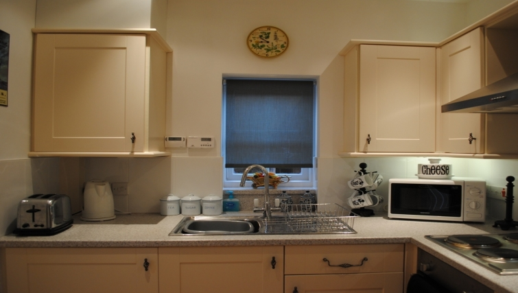 Kitchen at The Lichfield Coach House