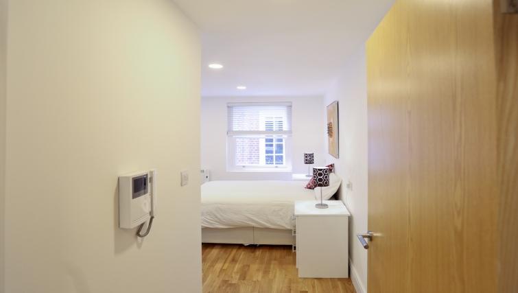 Hallway at Fleet Street Studio Apartments