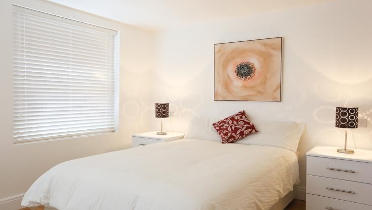 Double bedroom at Fleet Street Studio Apartments