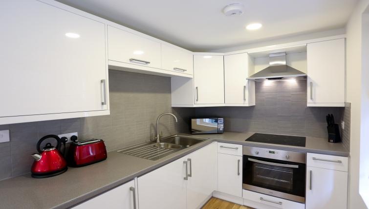 Kitchen at Fleet Street Studio Apartments