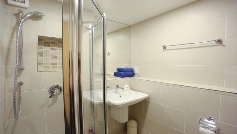 Bathroom at Fleet Street Studio Apartments