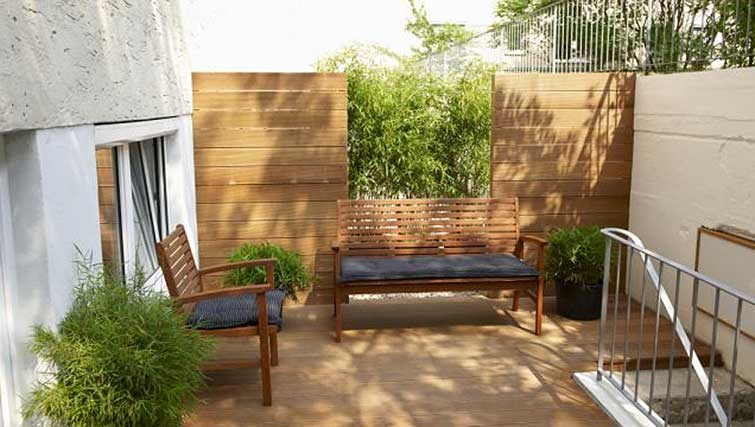 Patio at Boardinghouse Serviced Apartments
