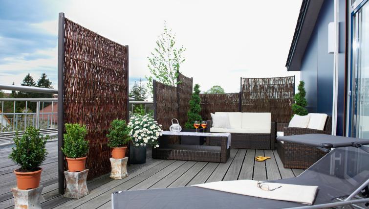 Garden at Boardinghouse Serviced Apartments
