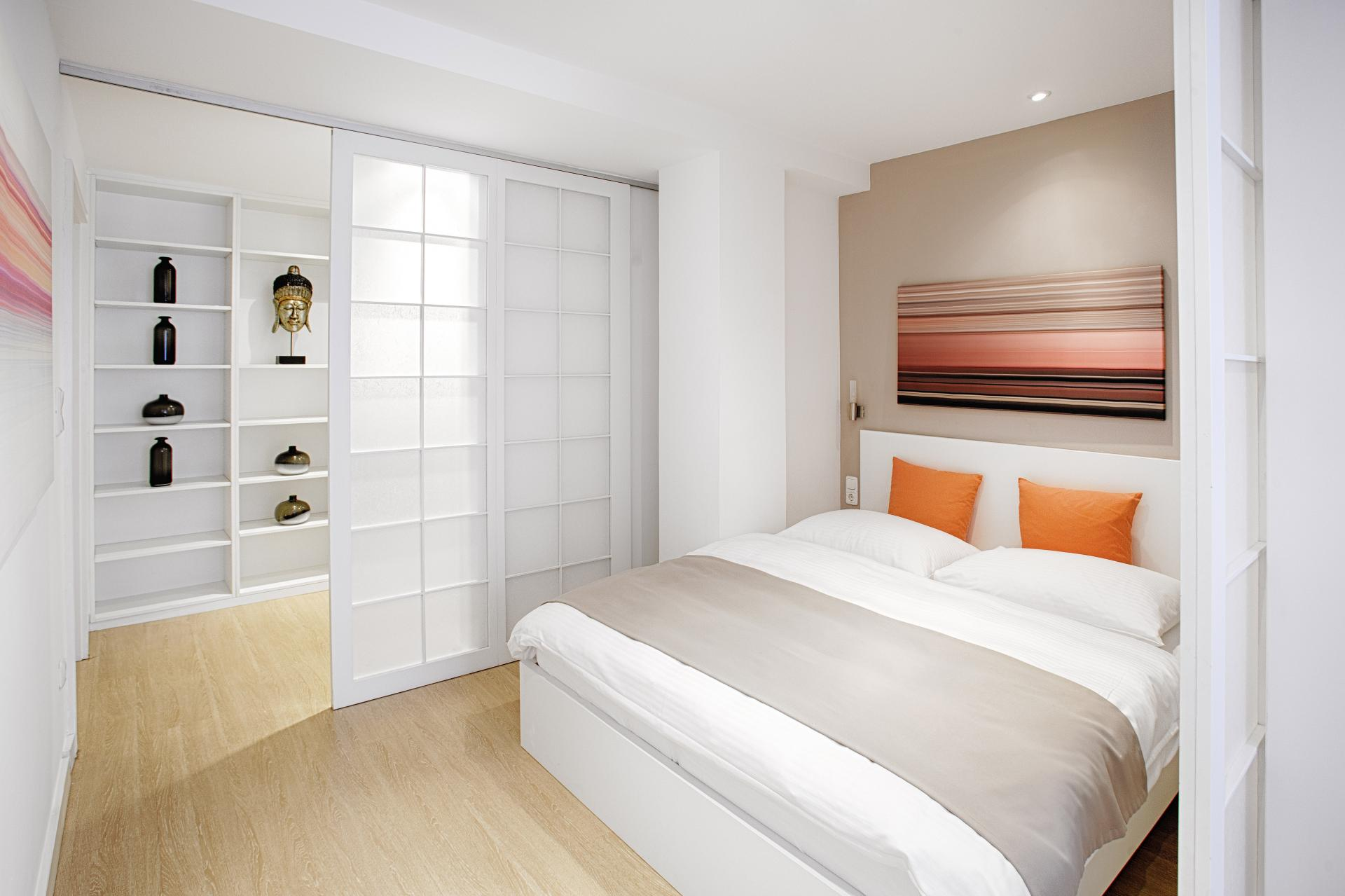 Bedroom at Boardinghouse Serviced Apartments