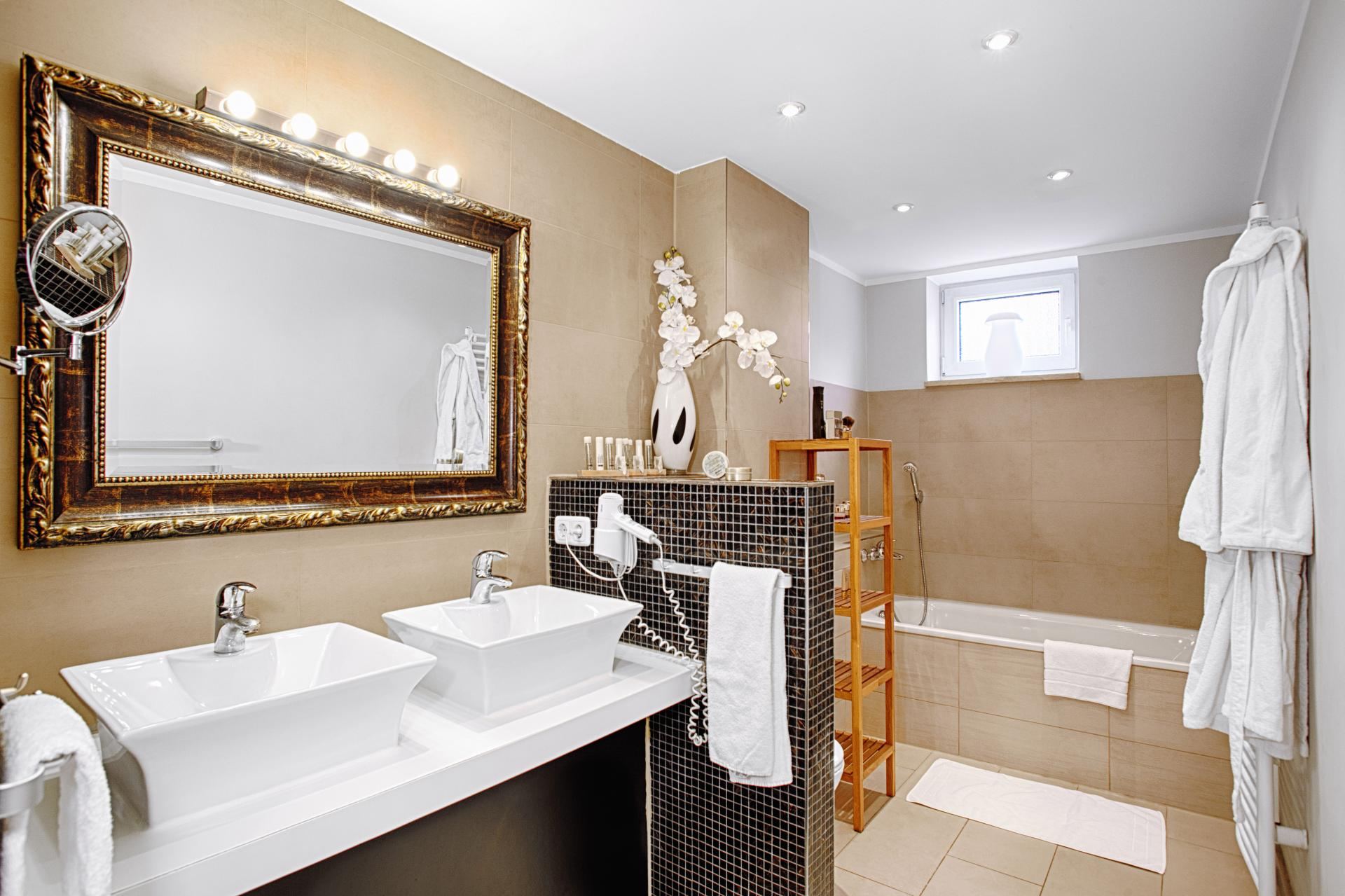Bathroom at Boardinghouse Serviced Apartments