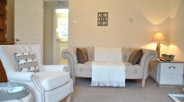 Sofa at Garfield Place Apartments
