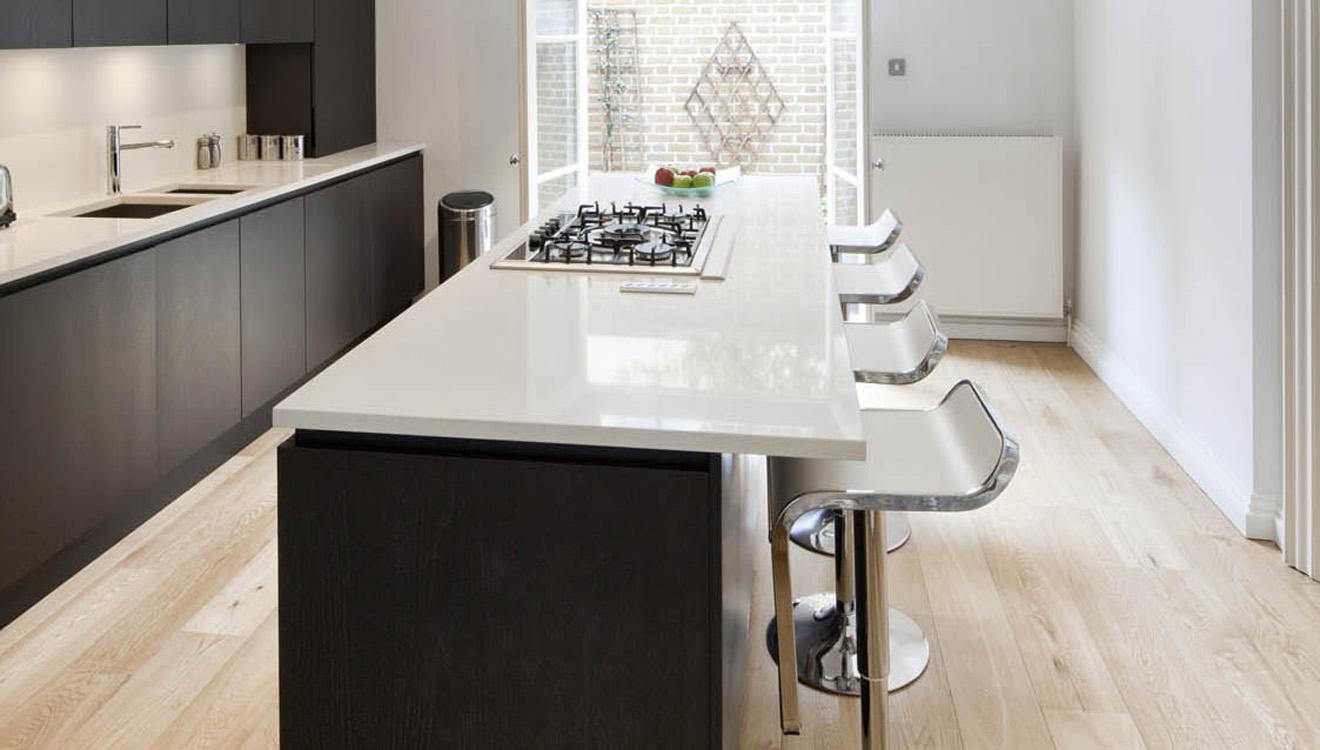 Kitchen at Hertford Street Apartments