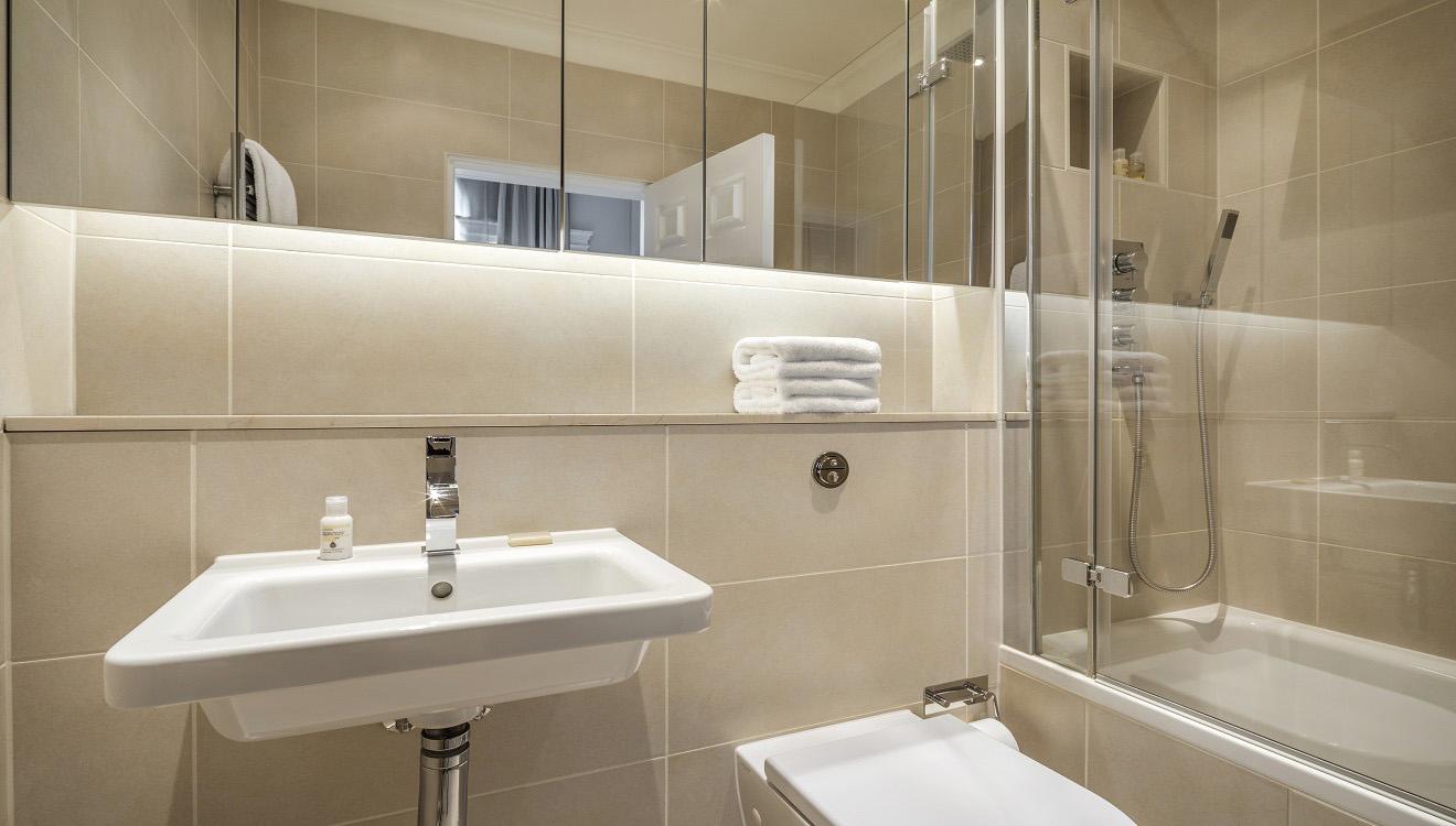 Bathroom at Hertford Street Apartments