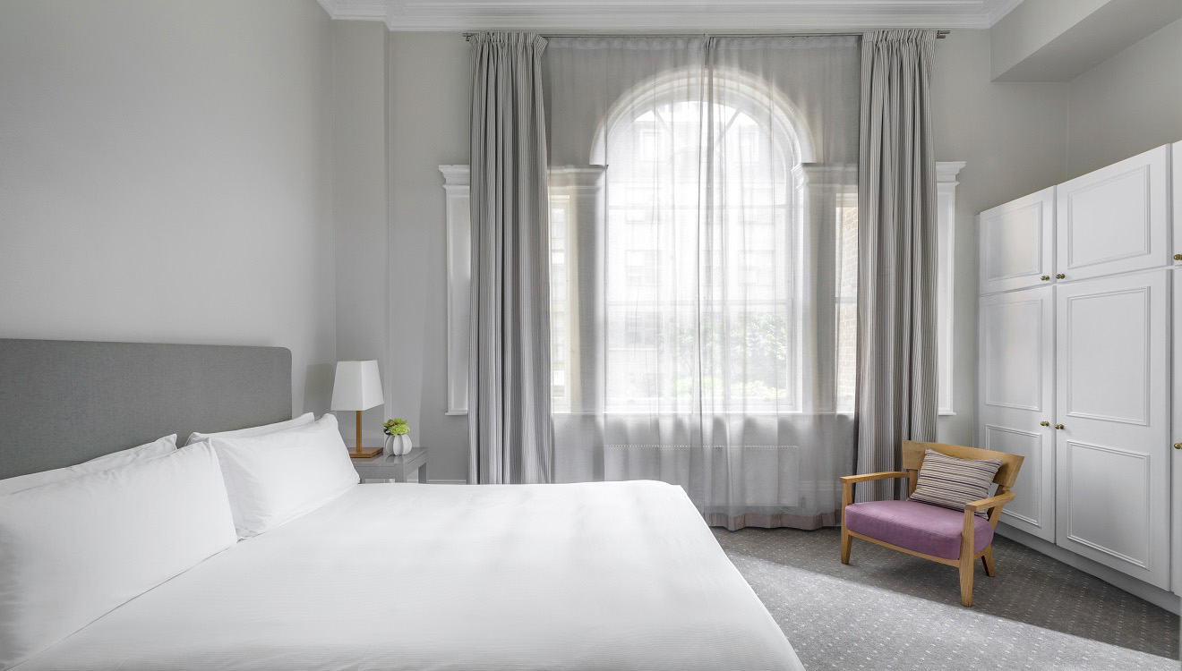 Bedroom at Hertford Street Apartments