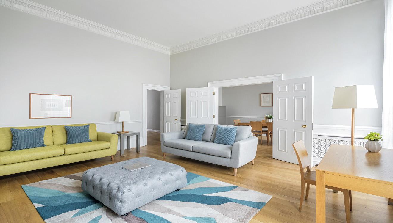 Lounge at Hertford Street Apartments
