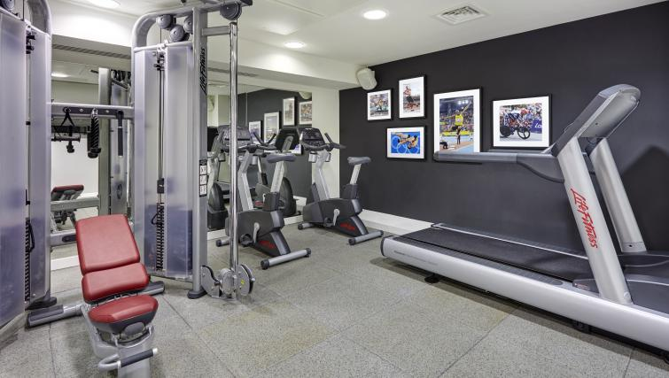 Gym at Staybridge Suites London Vauxhall
