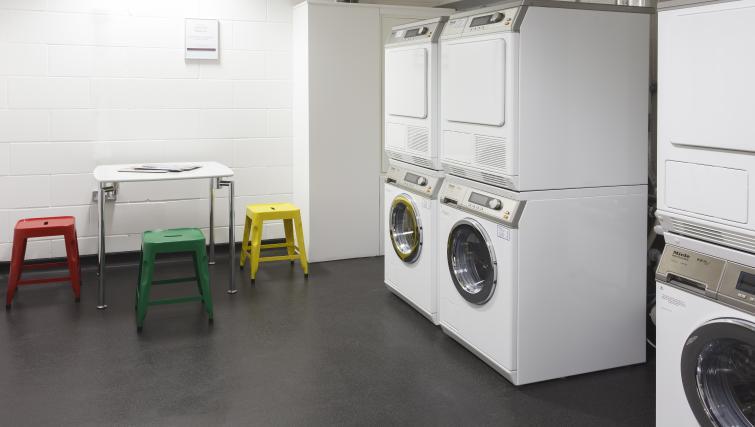 Laundry room at Staybridge Suites London Vauxhall
