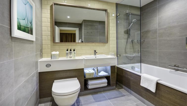 Bedroom at Staybridge Suites London Vauxhall
