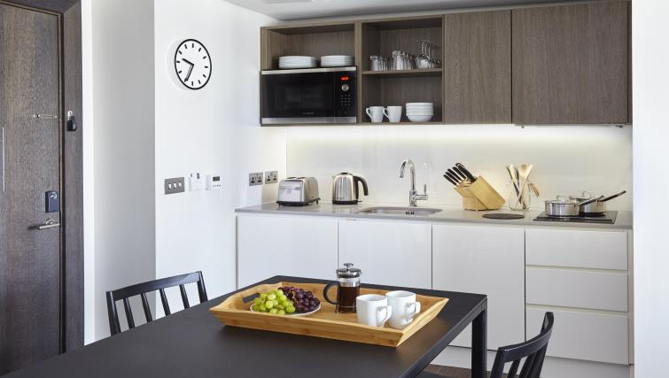 Dining area at Staybridge Suites London Vauxhall