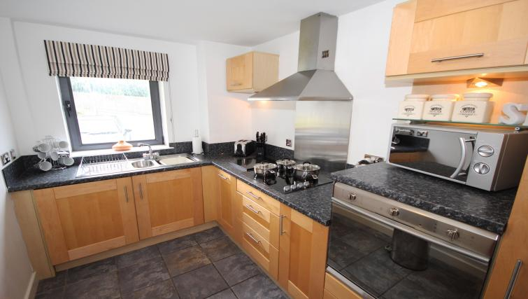 Kitchen at Baltic Quays Apartments
