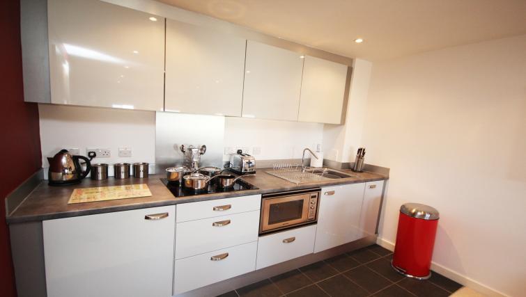 Kitchen at City Quadrant Apartments