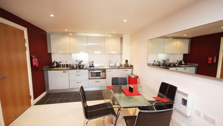 Kitchen/diner at City Quadrant Apartments