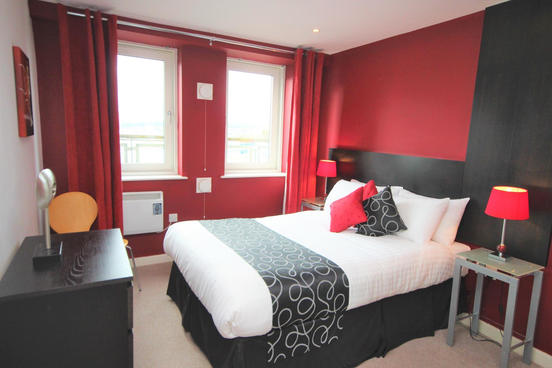 Bedroom at City Quadrant Apartments