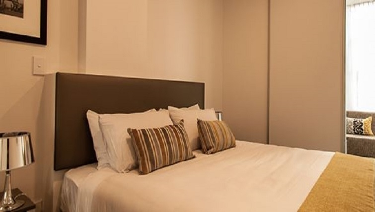 Comfy bedroom at Quest on Thorndon