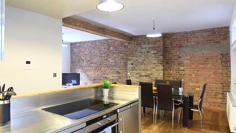 Modern kitchen at Charlotte Apartments