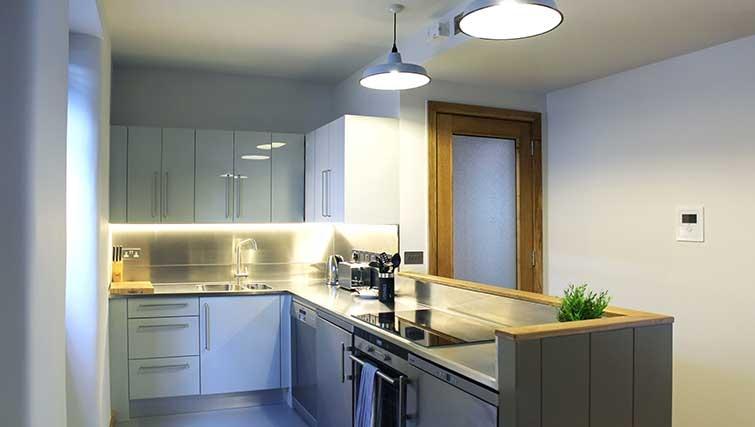 Kitchen at Charlotte Apartments