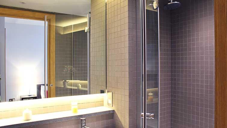 Bathroom at Charlotte Apartments