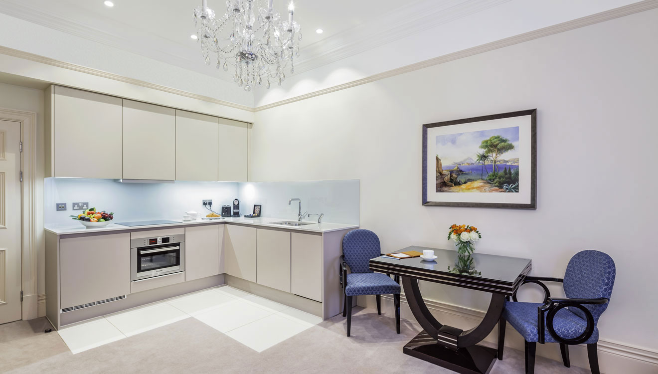 Kitchen at The Apartments by The Sloane Club