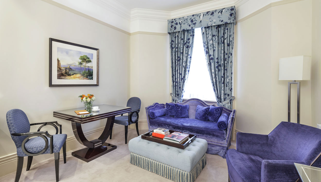 Cosy living area at The Apartments by The Sloane Club