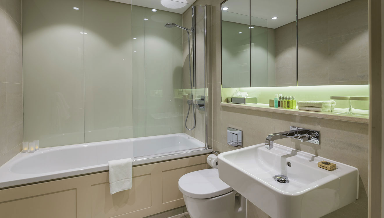 Bathroom at The Apartments by The Sloane Club