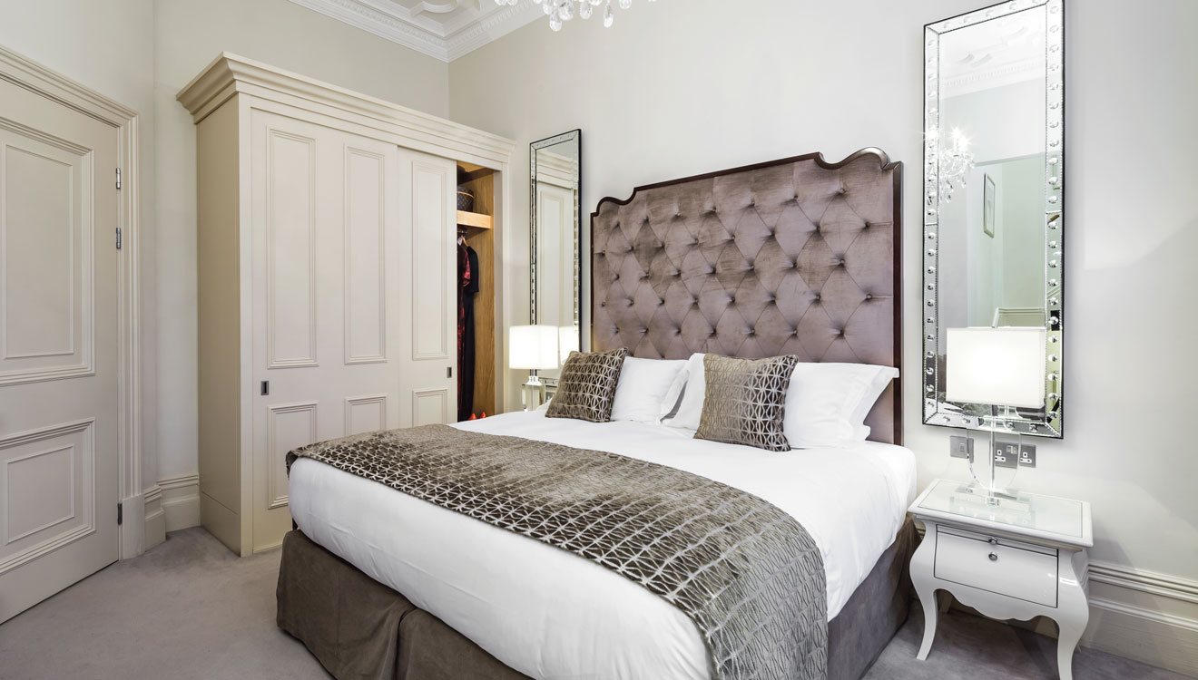Bedroom at The Apartments by The Sloane Club