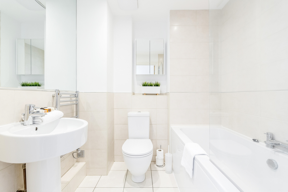 Bathroom at Abbots Yard Apartments, Centre, Guildford