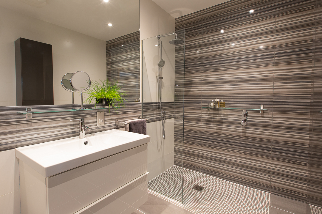 Bathroom at Alban House Apartments