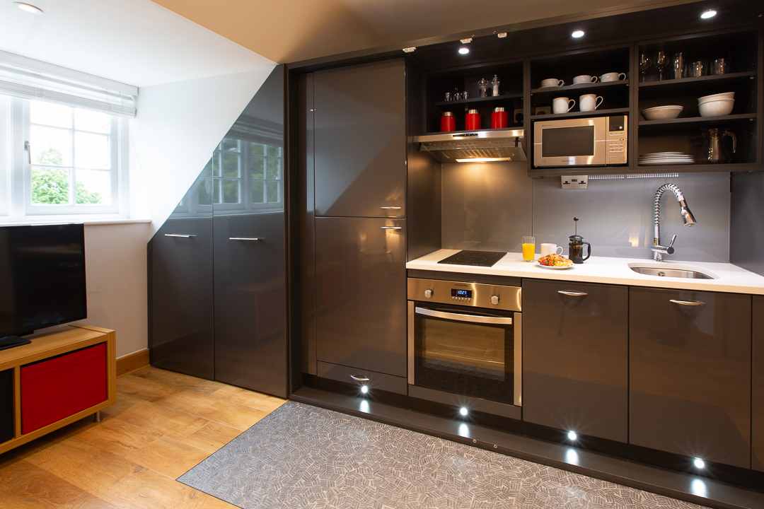 Kitchen at Alban House Apartments
